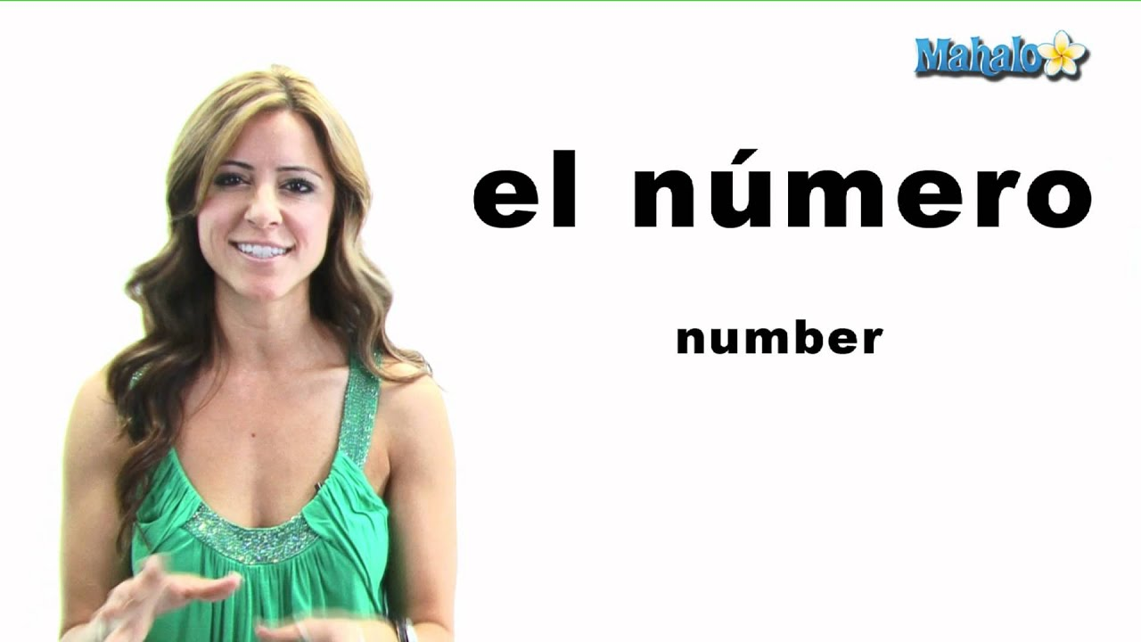 how to say 7 in spanish