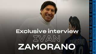 EXCLUSIVE INTERVIEW with IVAN ZAMORANO | Talking about AC Milan, Napoli, Lazio and #InterFans! 🇨🇱🖤💙????