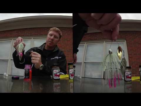 Greg Vinson on JJs Magic spinner bait jig skirts