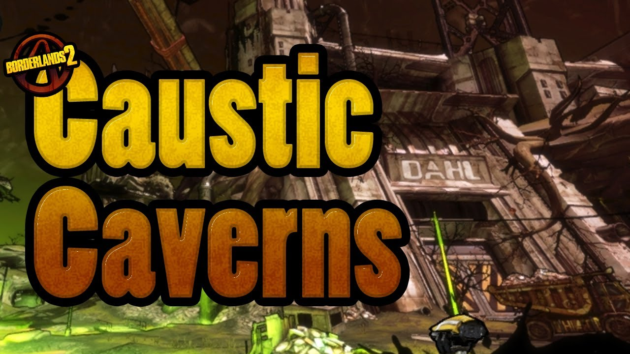 how to get to caustic caverns