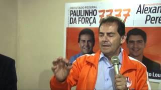 Paulinho da Força em Juquitiba, São Lourenço da Serra e Embu das Artes