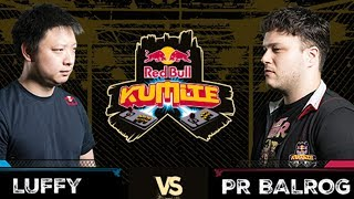 Red Bull Kumite 2017: Luffy vs  PR Balrog | Top 16