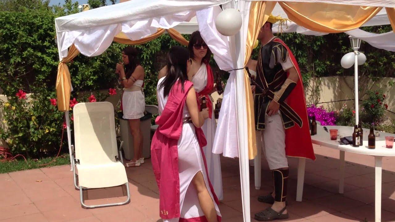 Decoracion Griega Para Casas ~ Cumplea?os Moro 2012 (Fiesta greco romana Clasificaci?n)  YouTube