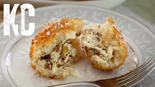 Risotto Rice Ball Recipe | Arancini