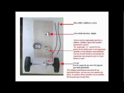 como hacer un carrito electrico casero