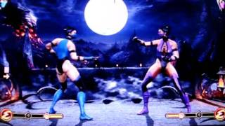 Mortal Kombat 9: Todas As Roupas Clássicas Habilitadas