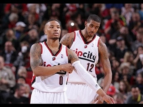 Damian Lillard and LaMarcus Aldridge Blaze Past Houston in Game 4