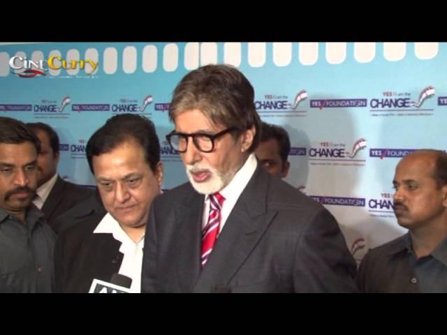 Amitabh Bachchan At Yes Foundation Awards