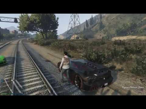 GTA ONLINE - #002: Peripécias no trilho do Trem! Trollagens marotas!