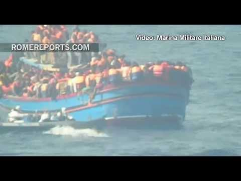 Boat full of immigrants reaches Italian coast with 30 people killed by asphyxia