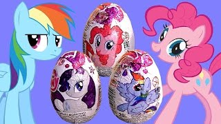 MyLittlePony Toys Surprise Eggs Rainbow Dash AppleJack