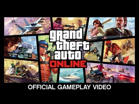 Grand Theft Auto Online: Official Gameplay Video, Watch the new Official Gameplay Video for Grand Theft Auto Online - which shows how we've taken the fundamental GTA concepts of freedom, ambient activity and...