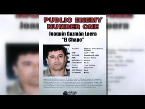 Mexican Drug Kingpin Joaquin 'El Chapo' Guzman Arrested