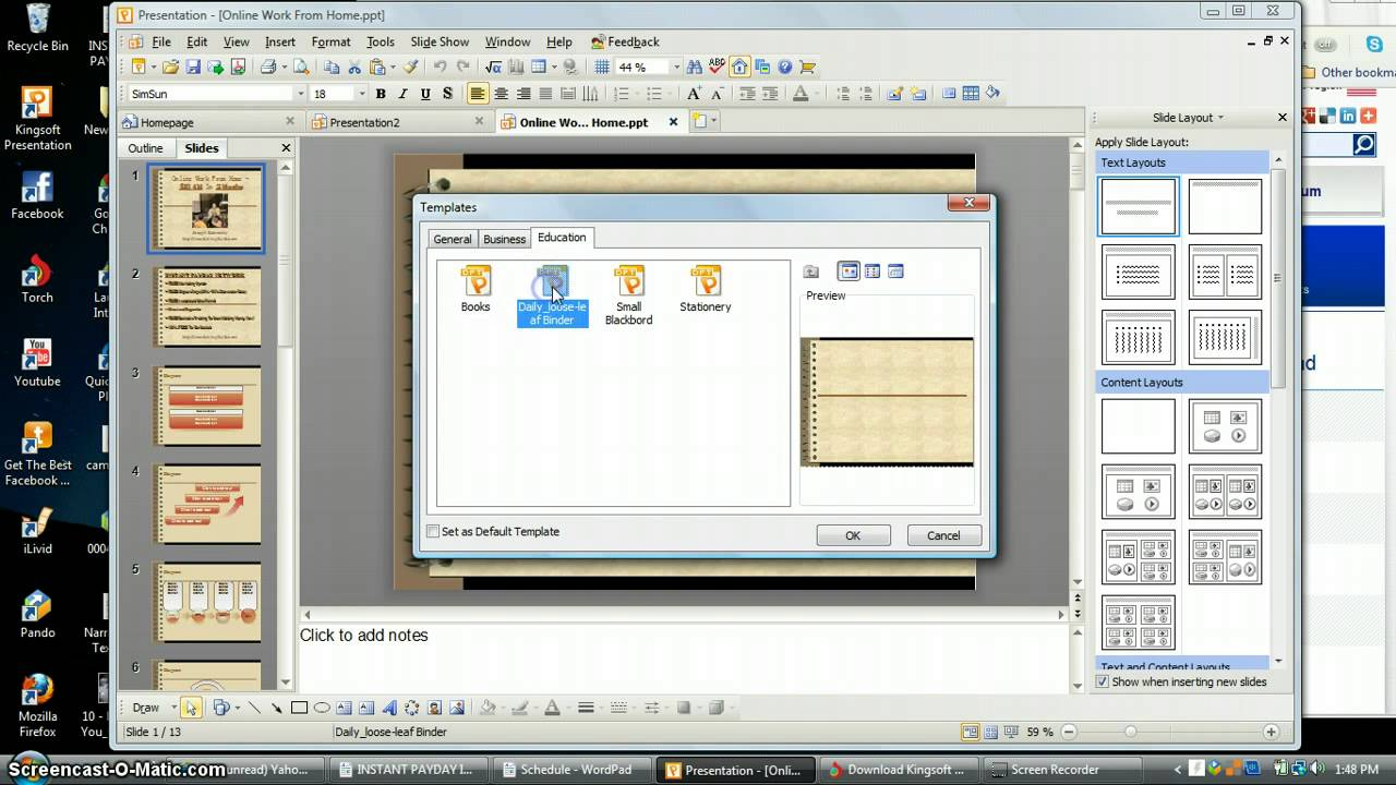 Online powerpoint maker