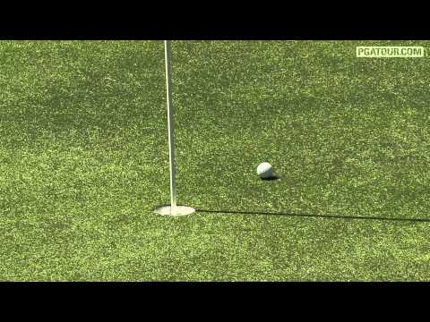 John Senden hits tee shot to inches on No. 13 at Valspar
