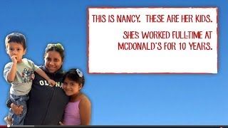 McDonald's Tells Mimimum Wage Earners to get Government Assistance