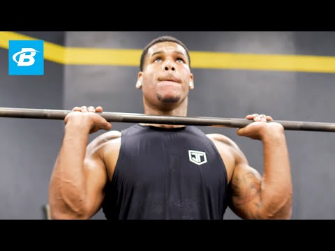 Full-Body Strength Workout + Texas BBQ Cheat Meal | Celebrity Trainer Ron Boss Everline