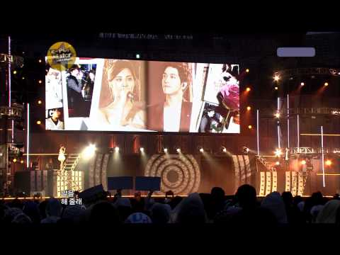 SeoHyun (SNSD) Yonghwa (CNBlue) - Banmal Song @ K-POP All Star Live in Niigata