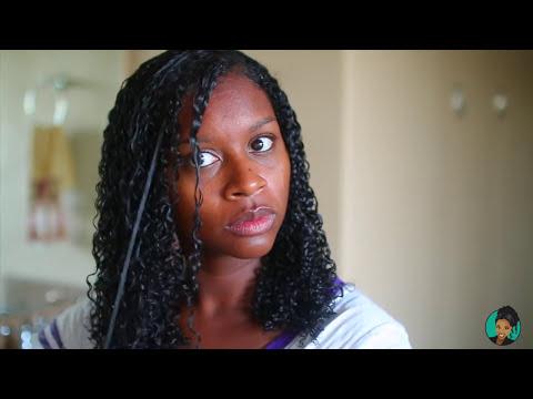 My Fall Wash N Go Routine