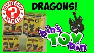 How To Train Your Dragon 2 Funko Mystery Minis Unboxing