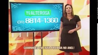 V�deo mostra caminhoneiros dirigindo em faixa proibida do Anel Rodovi�rio