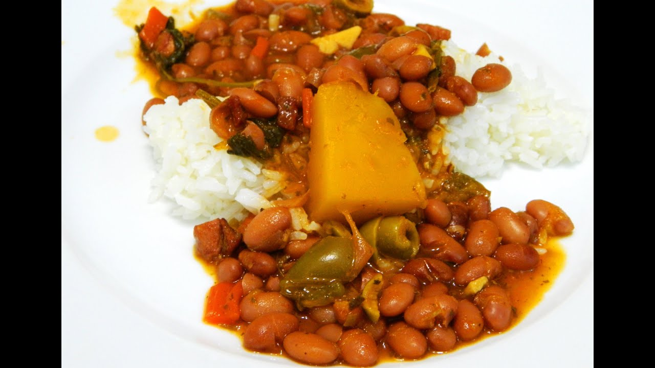 Boricua Style Habichuelas Guisadas Frescas (Stewed beans from Scratch ...