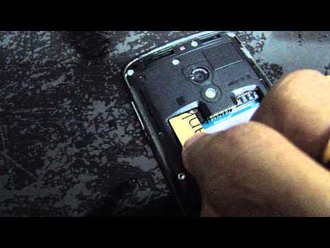 How to remove micro Sim Stuck in a Normal Sim Slot