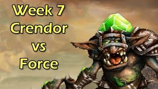 Blood Bowl - Speed Bowl League: Week 7 - Crendor vs Force