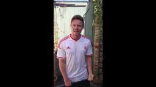 Video: ALS Ice bucket challenge - Joe Dempsie