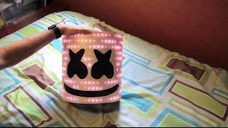 Marshmello V2 Helmet with LEDs - TUTORIAL