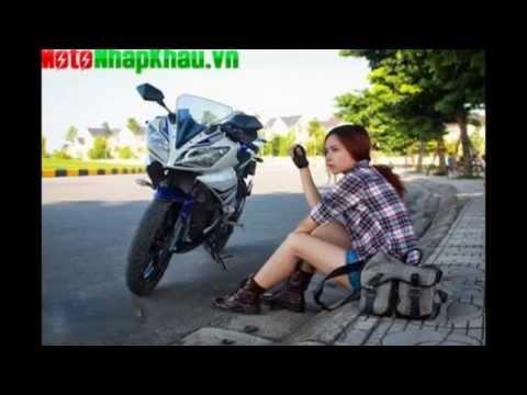 Yamaha R15 và Người đẹp Việt