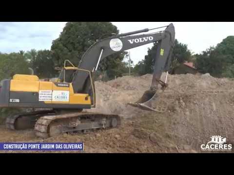 Prefeitura inicia construção de pontes no bairro Jardim das Oliveiras (Empa)