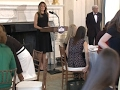 Raw: First Lady Hosts White House Luncheon