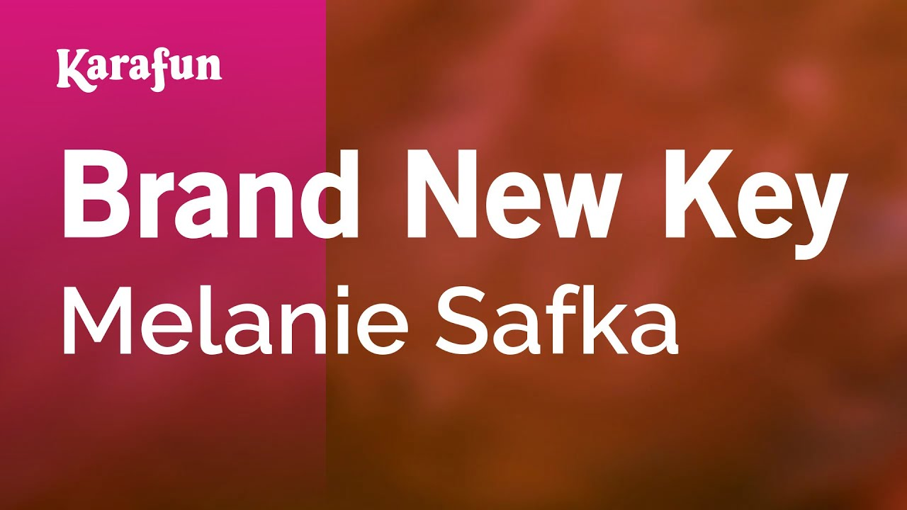 Karaoke Brand New Key - Melanie Safka * - YouTube