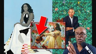Barack and Michelle Obama Portraits Revealed at #NPG; Artist Kehinde Wiley Has Interesting Portfolio