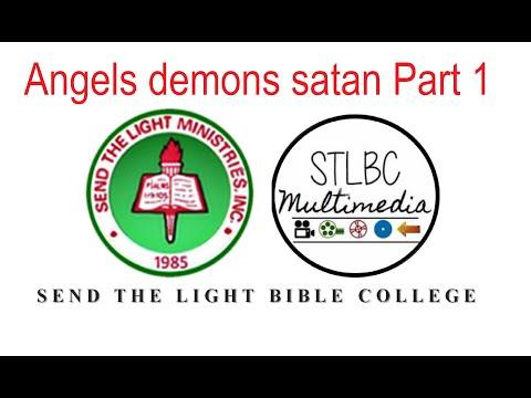 Angelology Demonology Satanology - Part 1