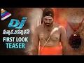 Allu Arjun's DJ Duvvada Jagannadham First Look Leaked ! -..