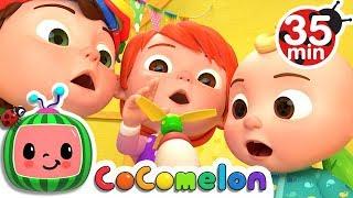 Humpty Dumpty   +More Nursery Rhymes & Kids Songs - Cocomelon (ABCkidTV)
