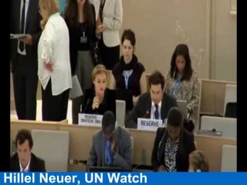UN Rights Council Ignores Syria Poison Gas Attack, Slams Israel