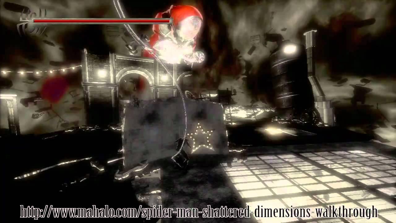 Spider-Man: Shattered Dimensions Walkthrough - Final Boss Battle ...