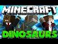 """Minecraft: Modded Dinosaur Survival Let's Play #19 """"DINOSAURS VS ENDER DRAGON"""" (Season 3)"""