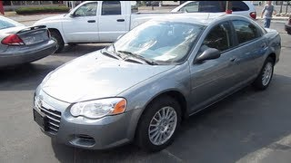 2006 CHRYSLER SEBRING Walk Around Tour And Review videos