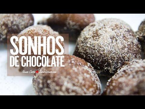 Receita de Sonhos de Chocolate