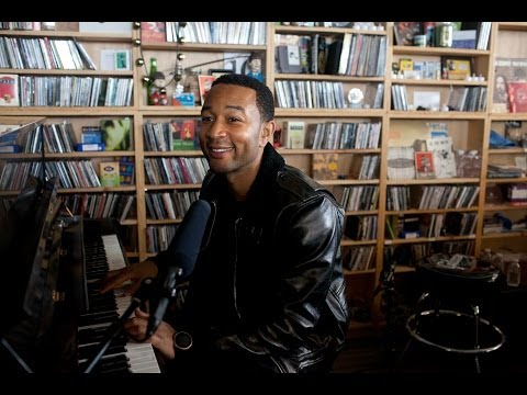 Thumbnail of video John Legend: NPR Music Tiny Desk Concert