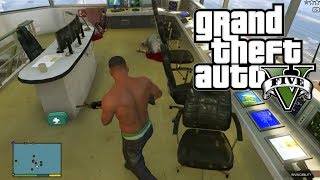 GTA 5 Secret Military Base Rooms! Air Traffic Control