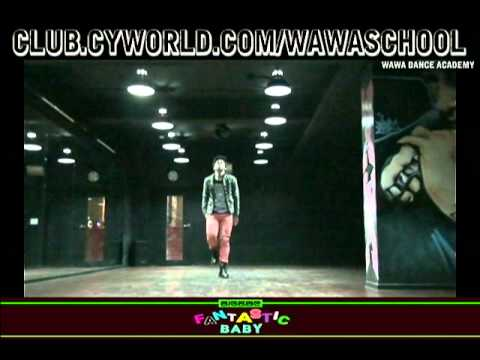 WAWA DANCE ACADEMY BIGBANG FANTASTIC BABY DANCE STEP