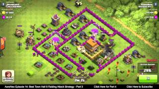 BEST Town Hall Level 6 (TH6) Raiding Attack Strategy