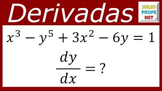 Derivación Implícita-Implicit Derivation