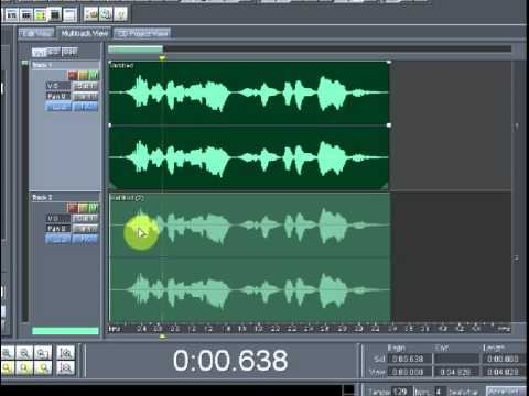 tutorial adobe audition 1.5 (edicion: paneo de audio)