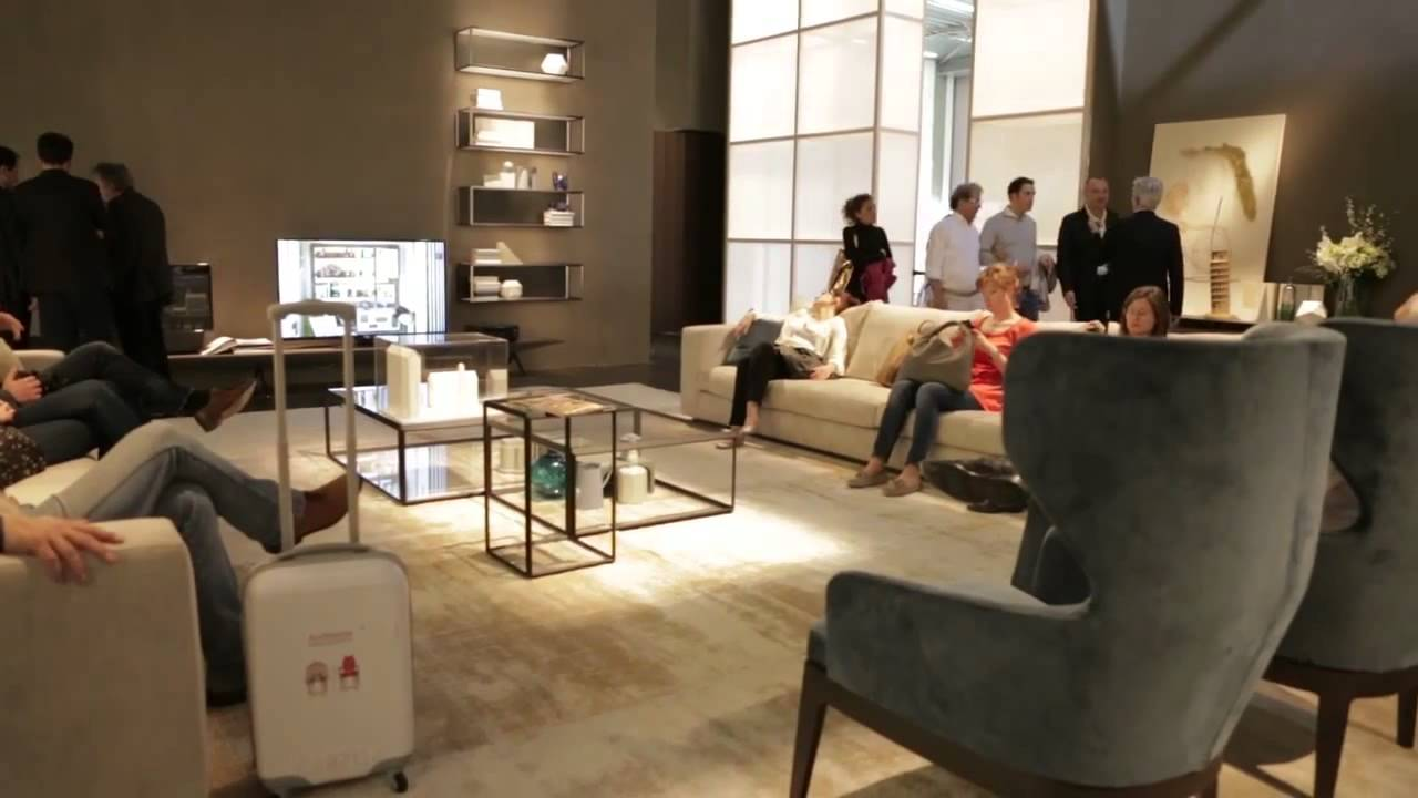 I Saloni 2014 1 день мебельной выставки в Милане